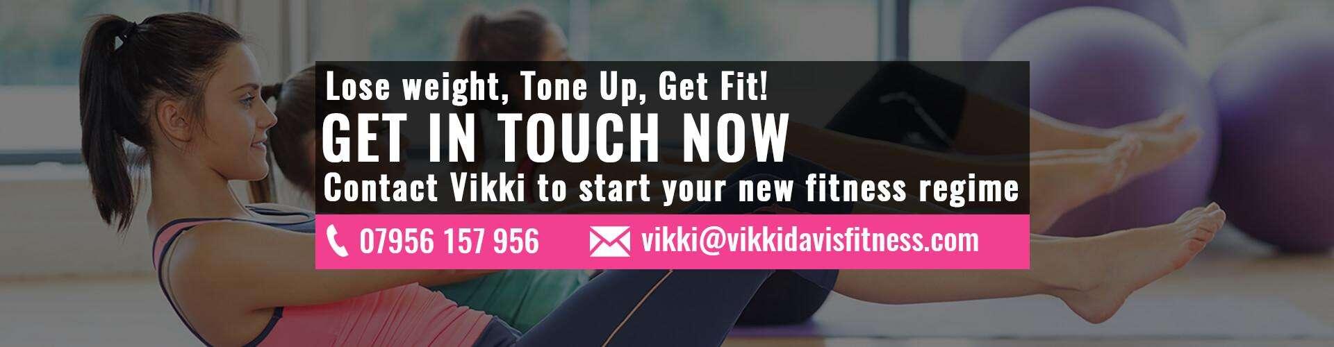 Online fitness pilates cardio hiit cardio boxing vikki d