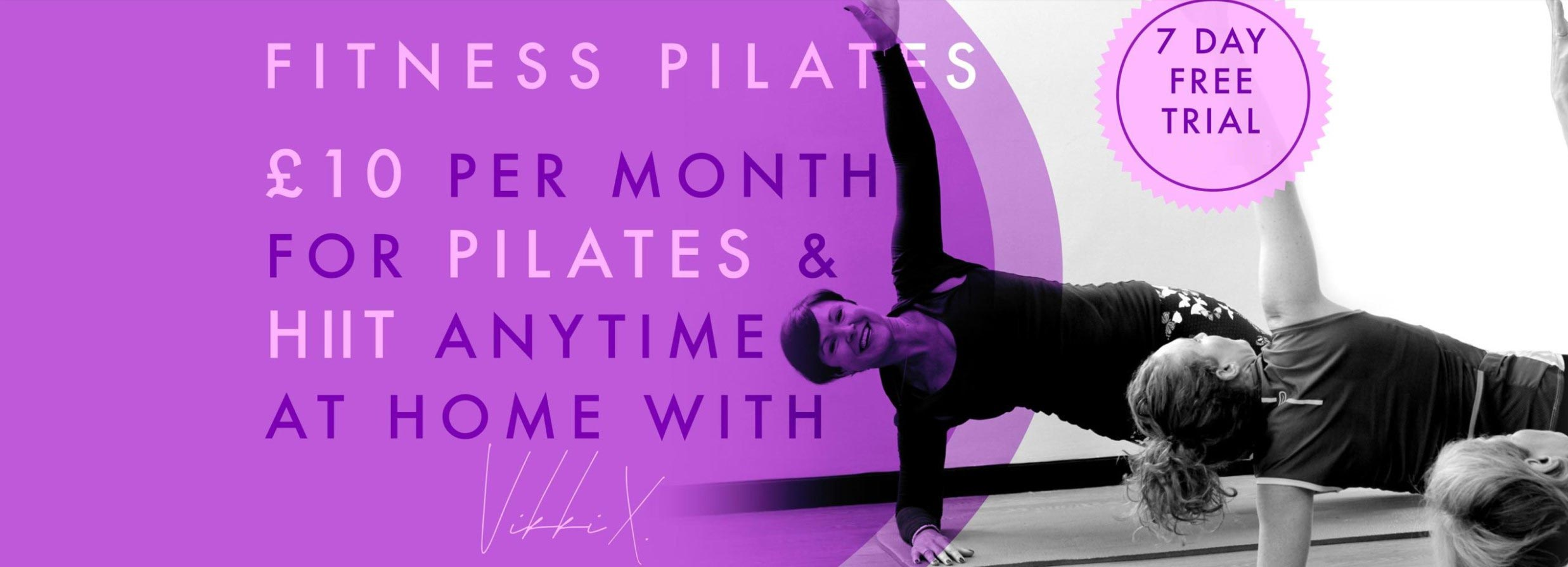 vikki davis fitness 7 day trial online pilates and cardio hiit